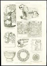 1887 - SYRIA BABYLON MERASH HITTITE INSCRIPTIONS ANATOLIAN EMPIRE   (173)