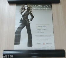 CELINE DION : Taking Chances Official Thailand Record Company POSTER Rare!