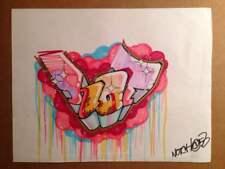 NOTCH 56 (bronx) graffiti , sketch sur papier 21,5x28cm /cope2/seen/tkid/quik/IZ