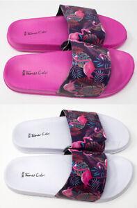 Brand New Thomas Calvi Flamingo Sliders Sizes 4-8 UK Great Your Summer Holiday!