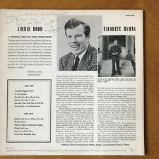 JIMMIE DODD DISNEY MOUSEKETEER SONGWRITER SIGNED SIGNED LP JACKET AUTOGRAPH
