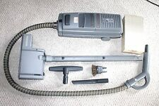 Vtg ELECTROLUX AMBASSADOR CANISTER VACUUM CLEANER w POWER NOZZLE & Accessories