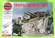 Airfix 06706 WWII Coastal Defence Fort + Figures 1/76 Series 6 Model Kit Unused