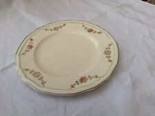"""Alfred Meakin post 1945 Scalloped Plate 9"""" gold swags Green ring off edge MEA278"""