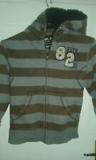 Boys stripes jersey jacket from 'nect'age 7 years