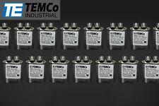 TEMCo 7.5 MFD uF Run Capacitor 370/440 vac Volts 25 LOT AC Motor HVAC 7.5 uf
