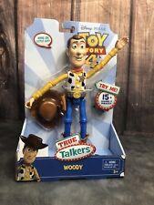 Disney Pixar Toy Story 4 True Talkers Talking Woody Figure Brand New