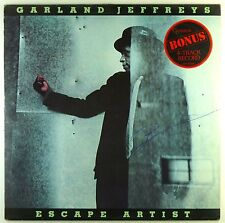 "12"" LP Garland Jeffrey-ESCAPE ARTIST-a3746-with 7"" Bonus 4-TRACK RECORD"