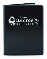 ULTRA PRO COLLECTORS GAMING 9 POCKET ALBUM PORTFOLIO BLACK