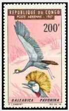 Timbre Oiseaux Congo PA51 ** lot 15682