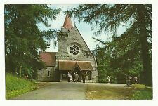 Parish Church, Crathie, Royal Deeside postcard