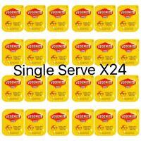Vegemite Single Serve Portions x24| Australian Spread Snack | Travel Size Sachet