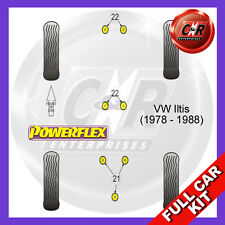 VW Iltis (1978 - 1988) Powerflex Complete Bush Kit