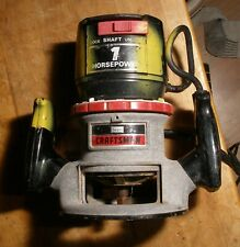 Sears Craftsman  model 315  1 HP router, 6.5 amp