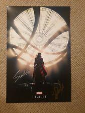 Marvel Doctor Strange Stan Lee Signed poster With Proof