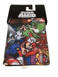 Super Mario Bifold Wallet by Bioworld