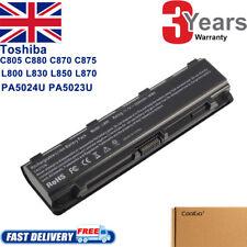 Battery For Toshiba Satellite C850D C855D C870D C875D Series Laptop PA5024U-1BRS