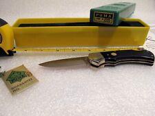 PUMA SOLINGEN GERMANY 1987 Hand Made **** 725 Drop Point Lock Back Folding Knife