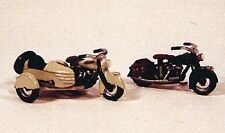 JL Innovative 904 HO 1947 Motorcycles: 1 w/Saddle Bag & 1 w/Sidecar Metal Kit