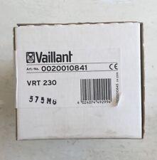 VAILLANT VRT230 PROGRAMMABLE ROOM STAT 0020010841 - New- Free P/P