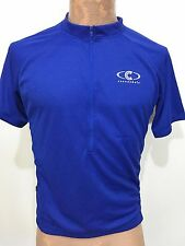 Cannondale Mens XL Royal Blue Short-Sleeve Bike Cycling Jersey Slim Fit