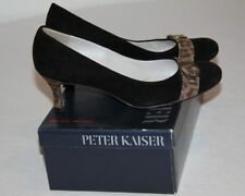 Peter Kaiser LUXUS Damen EDLE Pumps MEGA SCHICK! Schwarz TOP!!! Gr.38 (5)