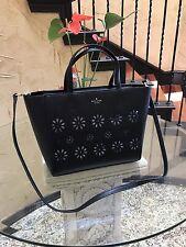 NWT Kate Spade Elisabeth Faye Drive Leather Tote Satchel $359 Black wkru4231