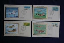 Military Aircraft of Canada 17c & 35c Stamps 4 Fdcs Colorano Sc#Ca873-876 Ca067