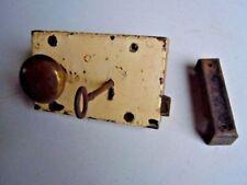 Brass Art Deco Antique Locks