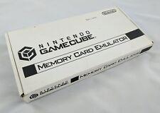 Nintendo Gamecube Memory Card Emulator GB-DOT-ME w/ Box & Instructions