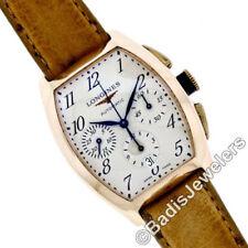 Relojes de pulsera automáticos Longines de oro