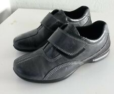 Ecco Grey Leather Women's Loafter Size EU 36/ US 5.5 #205