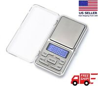 Portable 500g x 0.01g Mini Digital Scale Jewelry Pocket Balance Weight Gram LCD