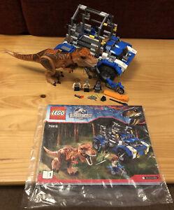 LEGO T. rex Tracker Set 75918 Jurassic world with instructions