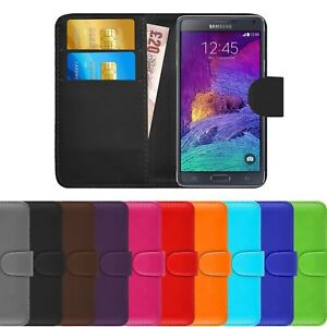 Premium PU Leather Wallet Book Cover Flip Case Holder For Samsung Galaxy A20e UK