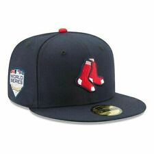 Boston Red Sox New Era 59FIFTY 2018 MLB World Series Fitted Cap Hat - Size 7 1/8