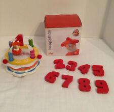Sevi Happy Birthday Music Box Musical Wooden Cake Toy Italian
