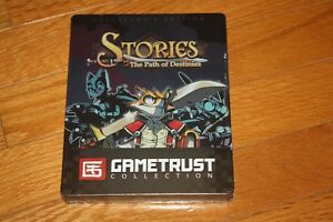 Brand New Sealed PC Gametrust Collection Stories The Path Of Destinies Steelbook