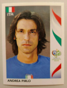 PANINI World Cup 2006 - Rookie: Andrea PIRLO (mint)