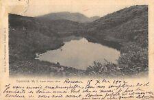 CPA ANTILLES DOMINIQUE DOMINICA W.I. FRESH WATER LAKE