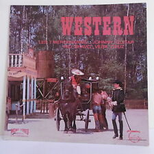 33T WESTERN Disque LP Films Far West LES 7 MERCENAIRES -RIO BRAVO -JOHNNY GUITAR