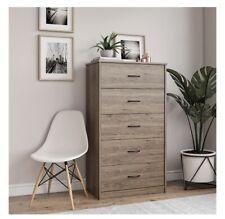 Mainstays Classic 5 Drawer Dresser, Rustic Oak Finish