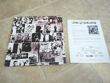 Rolling Stones Keith Richards, Watts & Taylor Signed Autograph LP PSA Certified