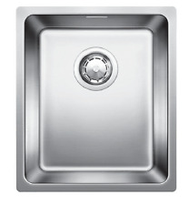 Blanco ANDANO UNDERMOUNT SINK WITH OVERFLOW 440x380x190mm Stainless Steel