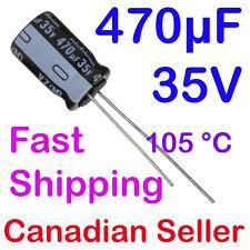 5pcs 470uF 35V 10x16mm Nichicon VZ For Power Supply TV LCD LED PSU PC AUDIO ACL