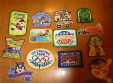 Boy Girl LOT-13 FUN PATCHES Badges Scout Fire Tour Science Water Park Hayride