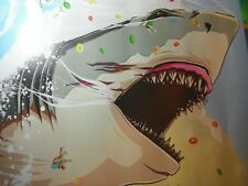 The Meg Shark 19 x 13 Regal Movie poster limited numbered art print #79 of 500
