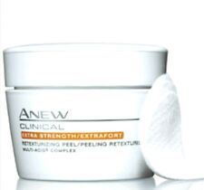 Lot of 2 Avon Anew Clinical Advanced ~EXTRA STRENGTH Retexturizing Peel Pads NIB