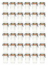 36 Stück Einmachgläser Bügelverschluss 250 ml | Einweckgläser | Marmeladengläser