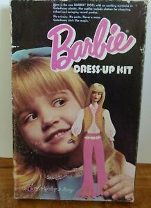 BARBIE DRESS-UP KIT COLORFORMS PLAY SET - No. 510 Vintage  Collectable